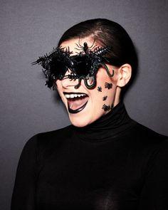Last-Minute Halloween Costume: Creepy, Crawly Glasses