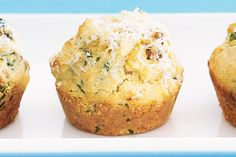 Muffins are not all created equal - or sweet. Try this savoury version and serve with lashings of cream cheese.