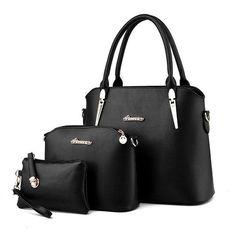 36a141a8bc01 Hanup New 2016 Women Handbags Leather Handbag Women Casual Bags Ladies  Brand Designs Bag Handbag+