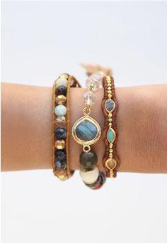 Multi Mix & Crystal Bracelet