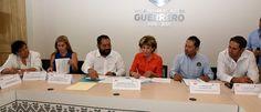 SD: LA PRESIDENTA DEL DIF GUERRERO, MERCEDES CALVO INS...