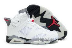 http://www.jordanaj.com/low-cost-air-jordan-6-vi-retro-mens-shoes-mesh-breathable-white-outlet-online.html LOW COST AIR JORDAN 6 VI RETRO MENS SHOES MESH BREATHABLE WHITE OUTLET ONLINE Only $96.00 , Free Shipping!