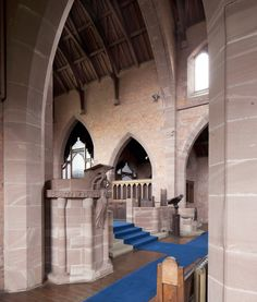 The inside of Long Street Methodist Church today, as taken by the photographer Andy Marshall.
