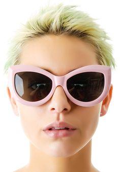 Wildfox Couture Kitten Frame Sunglasses   Dolls Kill