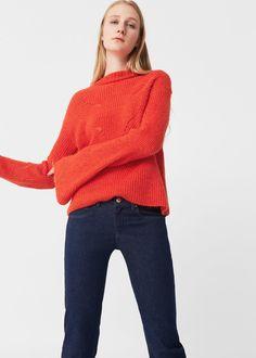 Openwork knit sweater -  Women | MANGO USA