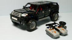 De recette instruction 9398 SUV mk2 AWD RC autoconstruction pièce unique MOC LEGO TECHNIC