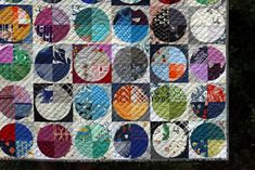 Dear Dottie Quilt Pattern — Stitched in Color Circle Quilt Patterns, Circle Quilts, Quilt Blocks, Heart Quilts, Flowering Snowball Quilts, Drunkards Path Quilt, Cross Quilt, Contemporary Quilts, Quilt Stitching