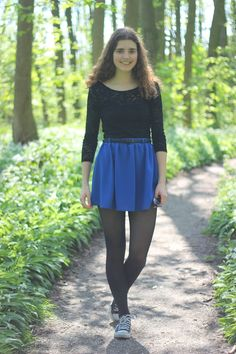 A Fashion Way of Life: Outfit | Black 'n Blue