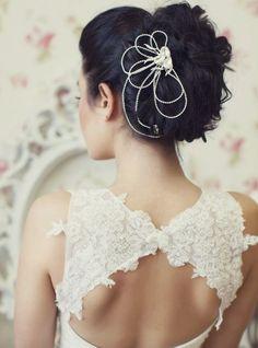 Best Ideas For Wedding Hairstyles : Featured Hairstyle: Websalon Wedding – Anna Komarova; Gatsby, Best Wedding Hairstyles, Hairstyle Wedding, Bridal Hairstyles, Best Prom Dresses, Dresses 2014, Gq Fashion, Hipster Fashion, Mod Wedding