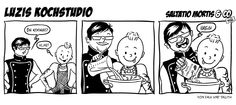 Co(mic) Strip: Luzis Kochstudio - Saltatio Mortis