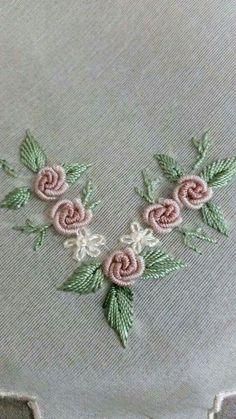 Embroidery Designs For Toilet Paper once Jr Embroidery Miami when Embroidery Business plus Embroidery Hoop Clips next Embroidery Patterns In The Hoop Brazilian Embroidery Stitches, Embroidery Leaf, Hand Embroidery Stitches, Silk Ribbon Embroidery, Hand Embroidery Designs, Embroidery Techniques, Embroidery Kits, Embroidery Supplies, Embroidery Needles
