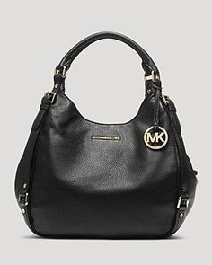 c59a5c2901e6 Buy Black MICHAEL Michael Kors Bedford Leather Large Shoulder Tote Bag from  our Handbags, Bags & Purses range at John Lewis & Partners.