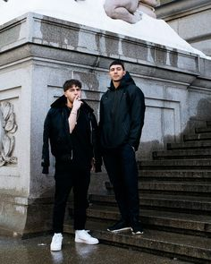 Majid Jordan is an innocuous enough name. On the surface it appears straightforward and self-explanatory, but in reality, not so much. Fundraiser Themes, Majid Jordan, Best Duos, Life Partners, Album Design, Comme Des Garcons, Cute Couples Goals, Fine Men, Celebrity Pictures