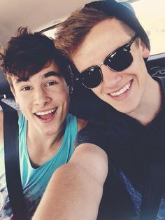 Kian and Connor.