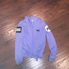 Purple vs pink jacket size xs In great condition size xs from Victoria's Secret pink need to sell asap PINK Victoria's Secret Jackets & Coats