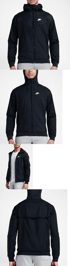 Jackets and Vests 59353: Men S Nike Sportswear Windrunner Light Jacket Black 727324-010 Xl -> BUY IT NOW ONLY: $62.99 on eBay!