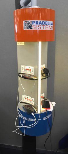 Charge Point Pila Modello 2.01 | Fiera del Lingotto a Torino
