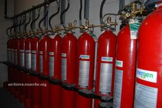 Washington County TN Archives. Emergency fire suppression system. Inergen.