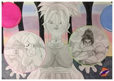 My OC Majin God of Destruction, Saiyan Kai and Alien-Like Angel for a competition by ZorArt