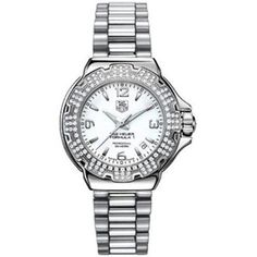 Buy TAG Heuer Women's WAC1215.BA0852 Diamond White Dial Formula One Watch