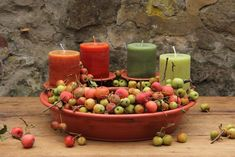 All Details You Need to Know About Home Decoration - Modern Advent Wreath, Fall Flowers, Hula, Candle Holders, Christmas Decorations, Pottery, Candles, Wreaths, Big Wheel