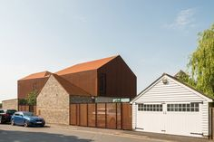 Explore a Prefabricated House For Sale in England That's Clad With Cor-Ten Steel - Photo 1 of 11 -