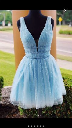 Sky Blue Beaded Backless Homecoming Dresses, Short Graduation Dress This dress can be made with custom sizes and color. Yellow Homecoming Dresses, Short Graduation Dresses, Backless Homecoming Dresses, Sequin Prom Dresses, Prom Dresses Blue, Party Dresses, Grad Dresses, Dress Prom, Occasion Dresses