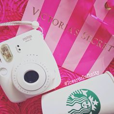 #myobsession #Starbucks #starbuckscoffee #polaroidcamera #white #VS #VictoriasSecret ☕️