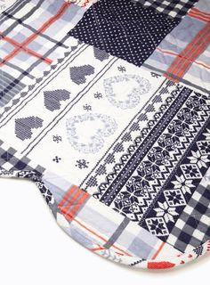 Winter Patchwork Bedspread