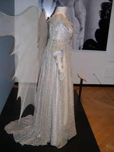 Ever After - gown & wings --  The Costumer's Guide to Movie Costumes; photo by Lecourtisane from the Fashion in Film exhibit, Souix City, IA