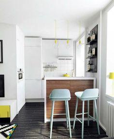 Small White Kitchen Apartment 7 ways to make your small apartment kitchen a little bit bigger