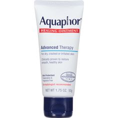 Amazon.com: Aquaphor Advanced Therapy Healing Ointment Skin Protectant 1.75 Ounce Tube: Prime Pantry
