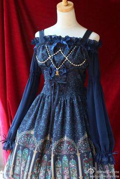 baltimoreprincess:  Krad Lanrete Phantom of the Opera Blouse w/ AATP Gloria JSK. Just keep making me want this dress.
