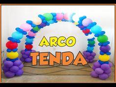 ....Como fazer ARCO DE BALÕES (PRINCESS). - YouTube