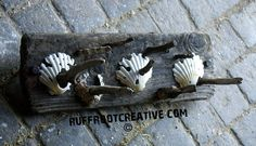 Hand crafted driftwood key/coat racks with or by RuffRootCreative, £20.00