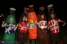 Five Pack costume idea for groups