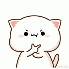 The perfect PeachCat Irritated Pissed Animated GIF for your conversation. Discover and Share the best GIFs on Tenor. Cute Bear Drawings, Cute Cartoon Drawings, Cute Kawaii Drawings, Cute Couple Cartoon, Cute Cartoon Pictures, Cute Love Cartoons, Cute Anime Cat, Cute Cat Gif, Cute Love Gif