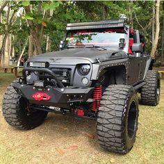 Custom Jeep Wrangler Equip With @VPR4x4 Bumpers | www.vpr4x4.com | #Viper4x4 #VPR4x4 #VPR4WD