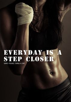 everyday is a step closer