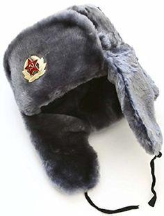 f02abbf3957 Hat Russian Soviet Army Air force Fur Military Ushanka   GR   Size L at  Cheapcapssmall Men s Hats   Caps store  Bomber Hats