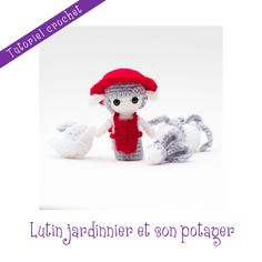 Patron crochet: lutin jardinier de Noël : Matériel Crochet par le-royaume-des-tetes-d-epingles