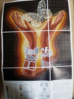 """Сегодня хочу показать вам набор от производителя Инкомтех из серии Сделай своими руками """"Хрустальная бабочка"""". Этот набор привлек мое внимание тем, чт"""