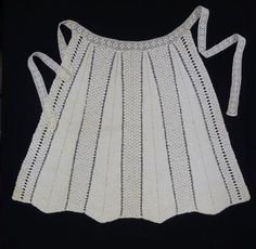 Hostess apron Design Competitions, Knit Crochet, Knitting, Lace, Apron, Tops, Women, Fashion, Pinafore Dress