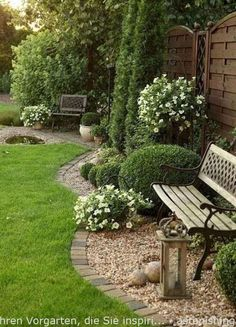 Affordable landscaping ideas for your front yard that will inspire you (. Cheap Landscaping Ideas For Your Front Yard That Will Inspire You - Lovelyvi . - Cheap Landscaping Ideas For Your Fron Garden Wallpaper, Gravel Garden, Garden Paths, Diy Garden, Gravel Front Garden Ideas, Brick Garden Edging, Rocks Garden, Garden Front Of House, Fence Garden