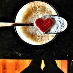 i #heart #coffee  קפה מהלב
