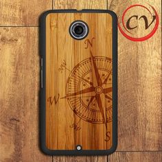 Compass Wood Nexus 5,Nexus 6,Nexus 7 Case