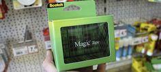 3Mのメンディングテープのパッケージ。これはうまい。◆見えないテープが本当に見えない、まるで手品なパッケージ : ギズモード・ジャパン  http://www.gizmodo.jp/2014/09/post_15591.html