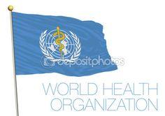 Nazioni Unite, organizzazione mondiale della sanità, che bandiera — Vettoriali…