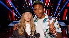The Voice Sawyer Fredericks Joshua Davis Koryn Hawthorne Meghan Linsey Pharrell Williams Entertainment