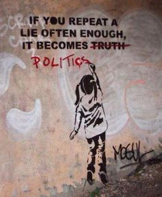 Beautiful Crime ‏@beautifulcrime via Twitter shared... Politics & Banksy #StreetArt